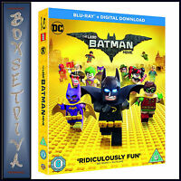 THE LEGO BATMAN MOVIE - DC MOVIE   **BRAND NEW BLU-RAY***