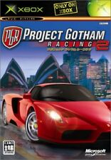 Used Xbox PROJECT GOTHAM RACING 2 MICROSOFT JAPAN JP JAPANESE JAPONAIS IMPORT