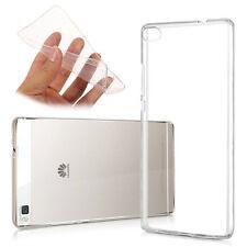 Accessoires Housse Etui Coque Gel UltraSlim TRANSPARENT Huawei P8lite ALE-L21