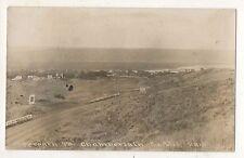 RPPC Approach to CHAMBERLAIN SD Old Car Vintage South Dakota Real Photo Postcard