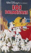 101 Dalmatians VHS WALT DISNEY BLACK DIAMOND