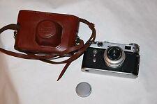 Soviet Russian Rangefinder 35mm Camera Zorki 6, INDUSTAR-50  3.5/50 Lens