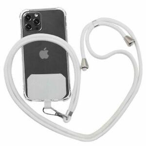 Universal Crossbody Nylon Patch Phone Lanyards Mobile Phone Strap Lanyard
