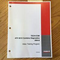 Case International IH TECH-COM AFX8010 COMBINE DIAGNOSTICS GUIDE SERVICE MANUAL