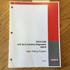 Case International IH TECH-COM AFX8010 COMBINE DIAGNOSTICS GUIDE SERVICE MANUAL