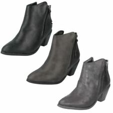 Zip Ankle Boots for Women 7 US Shoe