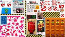 Ghostbusters Kenner Ecto and Firehouse Playset Decals - Amazing Variety