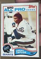 1982 Topps Football Lawrence Taylor ROOKIE RC, ALL-PRO #434 HIGH END GRADE