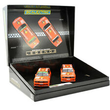 Scalextric C4110A BMW E30 M3-equipo JAGERMEISTER Twin Pack 1/32 ranura de coche