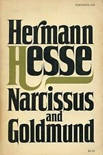 NARCISSUS AND GOLDMUND by Hermann Hesse, Translated by Ursule Molinaro /*RARE...