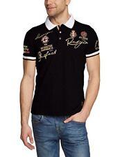 (tg. Xl) Nero(schwarz (black 012)) Redbridge - R41209a Polo da Uomo Manica Co