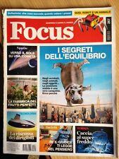 RIVISTA FOCUS SCOPRIRE E CAPIRE IL MONDO n. 267 Gennaio 2015