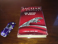 'Jaguar a biography' - Lord Montagu of Beaulieu - Signed by Lord Montagu - 1961