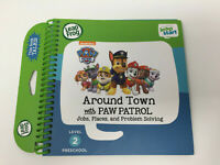 Leapfrog Leap Start Book Around Town With Paw Patrol Interactive Books NEW