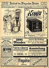 Engadin Schweiz Bad St. Moritz K. Puttkammer Berlin Kombi Camera Stereoscop 1895