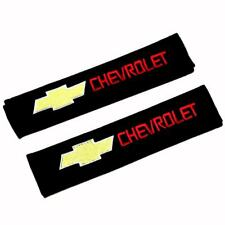 2PCS For Chevrolet Cotton Car Seat Belt Shoulder Pads Safe Seat Belt Cover