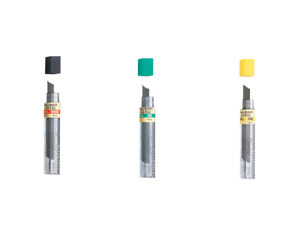 Pentel Automatic Mechanical Pencil Hi-Polymer HB 2B 2H Lead Refill 0.5 0.7 0.9mm