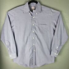 Brooks Brothers Mens 16 - 34/35 Long Sleeve Button Front Non-Iron Shirt