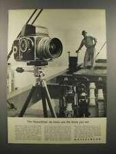 1962 Hasselblad 500C Camera Ad - Limits You Set
