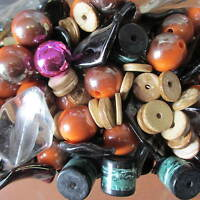 Wholesale & Job Lot 500 Gram Of Mixed Chunky Beads Spacer Beads Jewellery Making