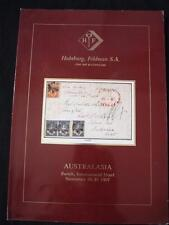 HAPSBURG FELDMAN AUCTION CATALOGUE 1987 AUSTRALASIA