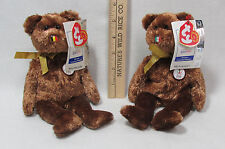 Ty Beanie Babies Stuffed Animal Country Teddy Bear Fifa World Cup Mexico Belgium