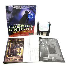 Gabriel Knight: Sins of the Fathers for PC in Big Box, Sierra On-Line, 1993