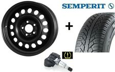 4x Winterräder für neuen Opel Corsa E Semperit Reifen 185/65 R15 Felgen !!RDKS!!