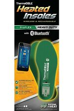 Thermacell PROFLEX Heavy Duty Heated Rechargeable Insoles with Bluetooth L, XL