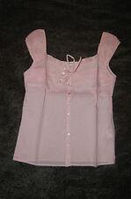 Cotton Waist Length Semi Fitted Cap Sleeve Women's Tops & Shirts