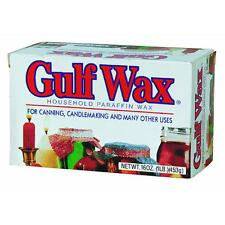 24pk Gulfwax Paraffin Household Wax Bar Candle Making Canning Jars Candlemaking