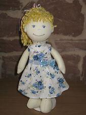 Puppenkleidung, Kleid, Stoff Puppe 30cm, neu, (ohne Haba Puppe), 1556