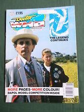 DOCTOR WHO MAG -  NO168  - 26 DEC 1990