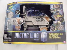 NEW Doctor Who cleric wars app game QLA device Dr Who mobile Apple iPod iPhone