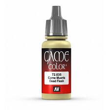 Vallejo Game Color: Dead Flesh - VAL72035 Acrylic Model Paint 17mm Bottle