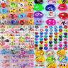 20Pcs Wholesale Mixed Lots Kids Resin Lucite Rings Cartoon Children Ring Jewelry