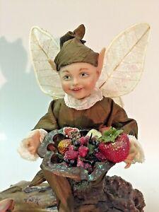 Woodland Elf OOAK cernit art doll by Linda Kertzman