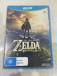 Zelda Breath Of The Wild Nintendo Wii U PAL Trusted AUS Seller