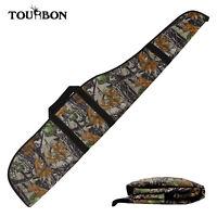 Tourbon Rifle Slip Bag Gun Soft Case Scoped Guns Cover Hunting Pack Padded Camo