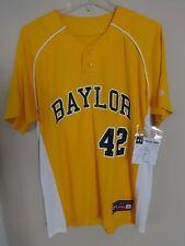 New Baylor Bears # 42 Salesman Sample 2012 Baseball Jersey Men L by Under Armour