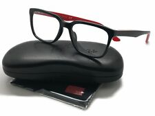 4769f80275a Ray Ban RB 5350-D 5596 Black   Red Eyeglasses 54mm Square frame