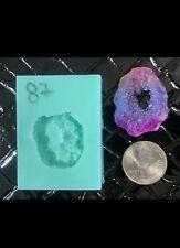 #87 Silicone Druzy Mold   Crystal Quartz Rock Cluster Geode Gem Resin