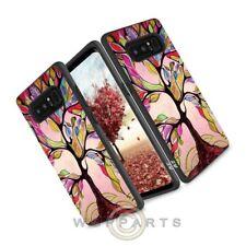 Samsung Note 8 Zizo Advanced Armor Case - Colorful Tree Case Cover She