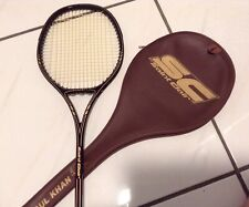 Rare/Vintage Saint Clair Dynasty GUL KAHN Signature Squash Racquet w/Cover