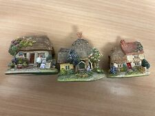 Three Lilliput Lane Collectable Ornament Cottages