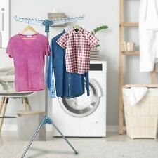 Hyfive Rotary Clothes Hanging Rack Airer Drying Laundry Rail Easy Storage Indoor