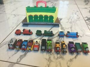 Thomas Take n Play - Fold Out Tidmouth Sheds plus 15 engines and 3 carriages
