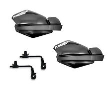 Powermadd Trail Star Handguards Guards Tri Mount Kit Black Utility ATV Polaris