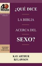 Que Dice La Biblia Acerca del Sexo? / What Does the Bible Say about Sex? (40 Min