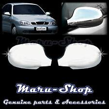 Chrome Side Rear View Mirror Cover Trim for 96~ Chevrolet Lanos/Sens